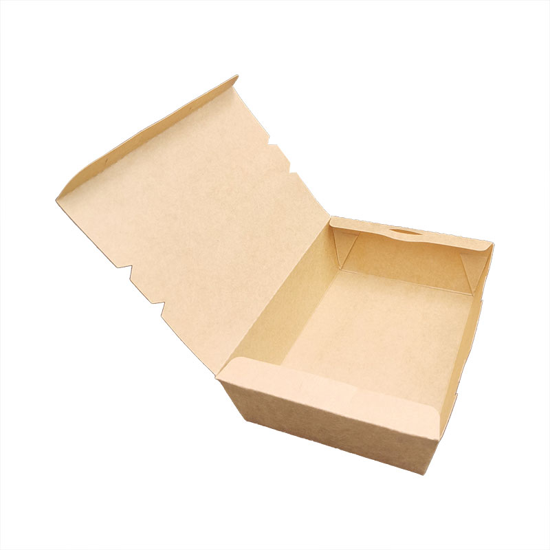 Caja de papel desechable y degradable de 1200 ml